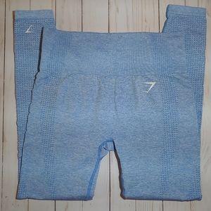 Gymshark Vital Seamless Light Blue Leggings M